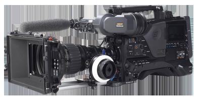 Sony, XDCAM PDW F800, PDW700, Matte Box