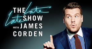 THE LATE LATE SHOW WITH JAMES CORDEN IN LONDON